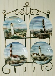 Lighthouse Plates set # 003 from M & N Specialty